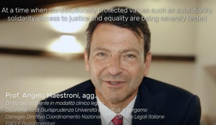 Le cliniche legali universitarie e il territorio